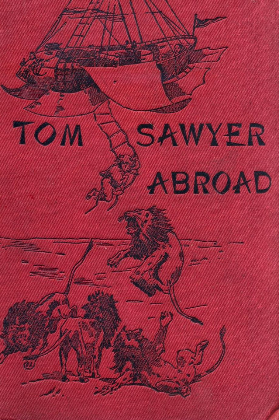 Tom Sawyer Abroad by Mark Twain